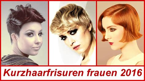kurzhaarfrisuren frauen  youtube