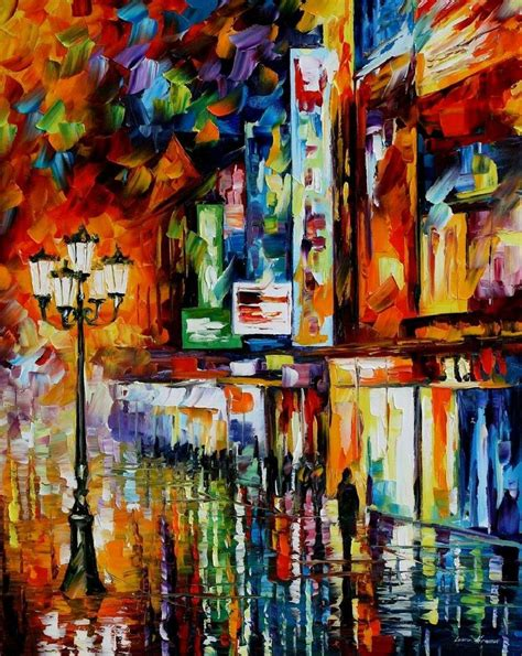 V Tec Painting Knife Type 2010 beautiful paintings by leonid afremov thearthunters