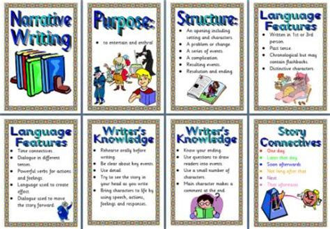 ks2 literacy resource features of narrative writing
