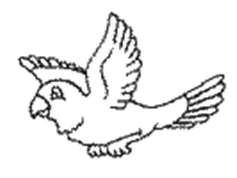 dltk birds coloring pages parrot crafts for kids