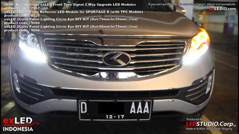 Kia Sportage Headlights Kia Sportage Led Headlight 2 Way