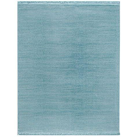 kurzflor teppich blau teppich kurzflor webteppich blau uni tarz in 4 gr 246 223 en