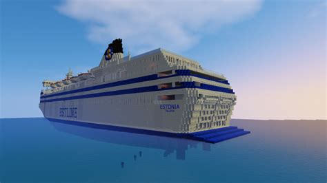 schip estonia m s estonia minecraft project