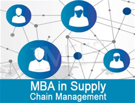 Mba In Supply Chain Management Distance Learning India mba in supply chain management distance education in