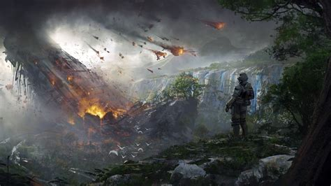 Fall Flowers In Season by Wallpaper Titanfall 2 Soldier Destruction Concept Art