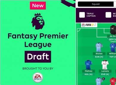 Epl Draft | fantasy premier league confirms long awaited draft
