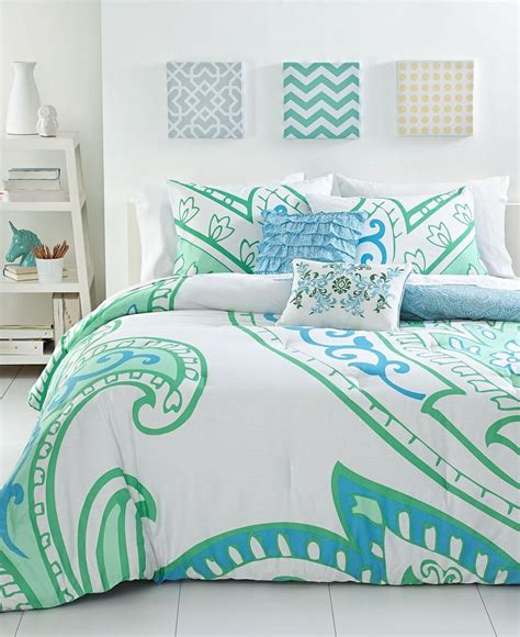 macy s bed and bath darissa 3 piece comforter sets dorm bedding bed bath