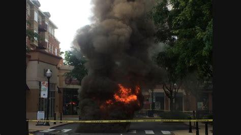 Backyard Bbq Arlington Transformer Fire Breaks Out At Arlington Shopping Center