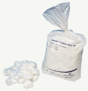 Medisoft Cotton 120 Balls cheap cotton wool balls buds aid supplies and other supplies from