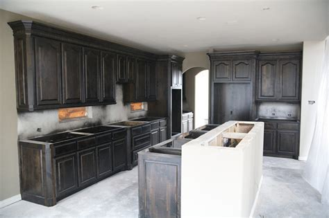 Black Stained Kitchen Cabinets by Black Stained Kitchen Cabinets Decor Ideasdecor Ideas