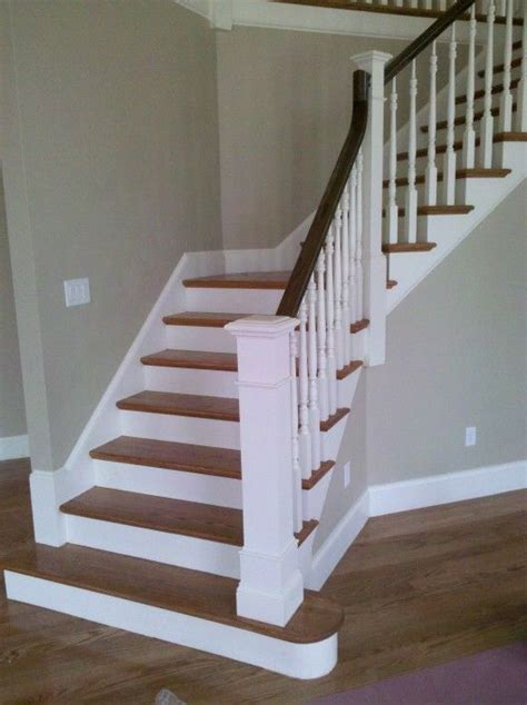 oak stair banister 68 best stairs images on pinterest