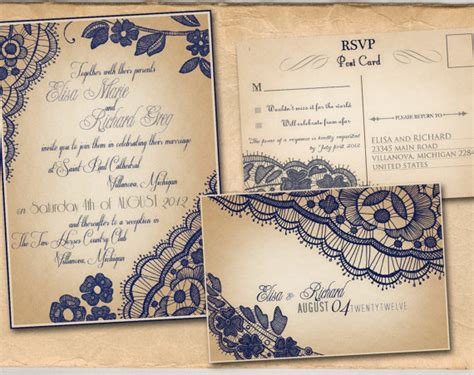 top ten of free vintage style wedding invitation templates
