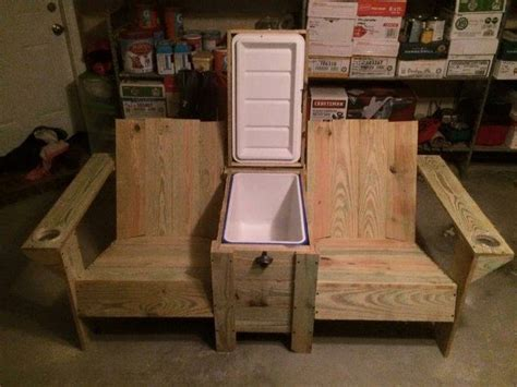 how to build a chair bench with a cooler home