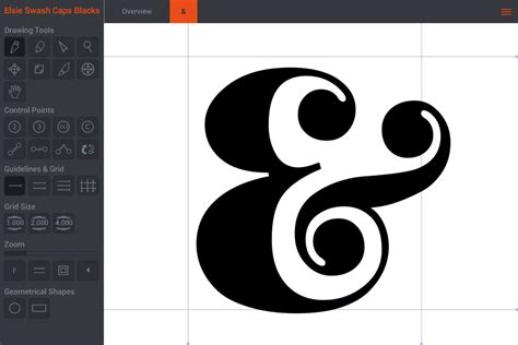 font design software free online birdfont a free font editor for ttf eot and svg fonts
