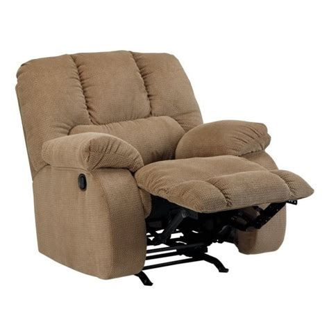Ashley Roan Fabric Rocker Recliner In Mocha 3860225