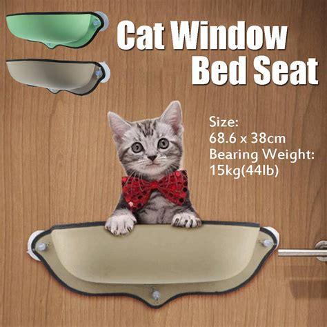 cat window seat uk cat window bed hammock seat perch mounted sofa mat hanging