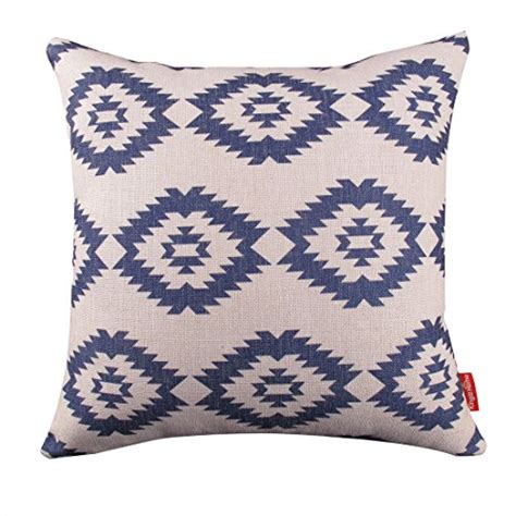 Throw Pillow Covers 18 X 18 by Kingla Home 174 Square Cotton Linen Decorative Throw Pillow