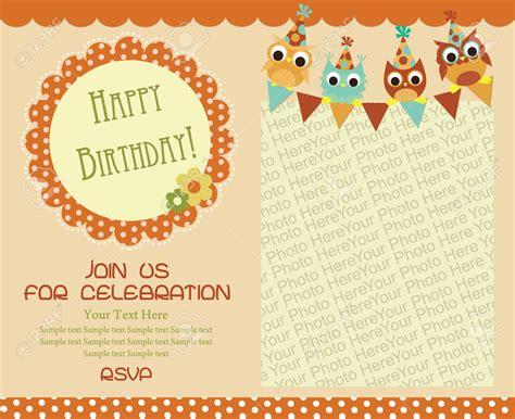 happy birthday invitation card design birthday invitation cards designs best party ideas