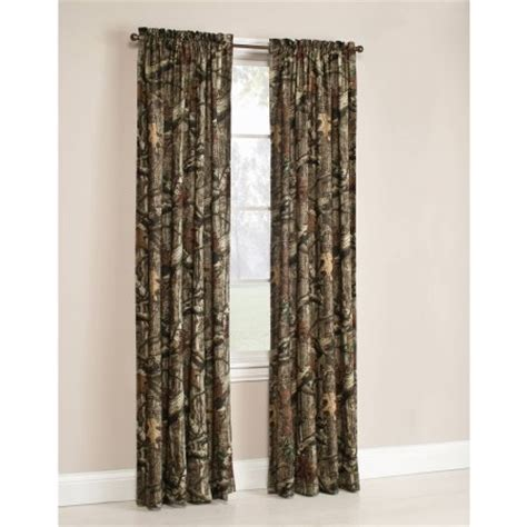 cheap camo curtains mossy oak break up infinity camouflage print window