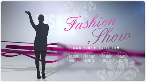 fashion show ticket template fashion show promo for your boutique after effects