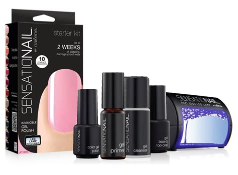 Gel Nail L Kit by 7 Of The Best At Home Gel Kits