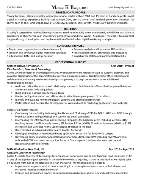 Resume Skills Exles Marketing Digital Marketing Resume Fotolip Rich Image And Wallpaper