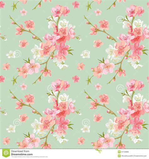 spring blossom flowers background stock vector