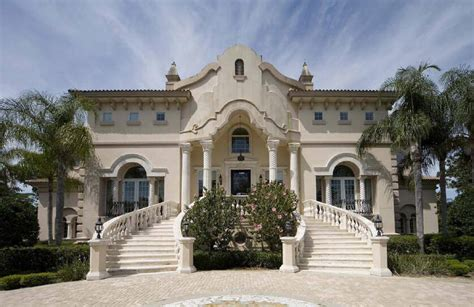 italian baroque palace luxury home design