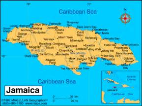 Where Is Jamaica On The Map Of The World by Atlas Jamaica