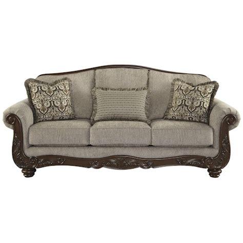 cedric sofa signature design by ashley cedric traditional sofa with