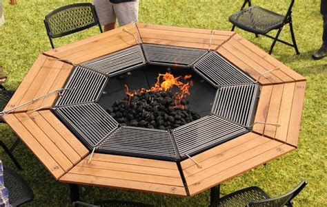 Grill Table jag eight 8 person grill table 187 gadget flow