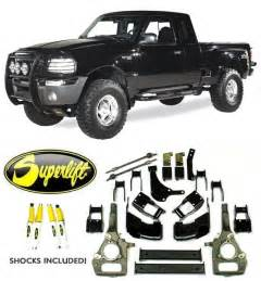 superlift 1998 1999 ford ranger 4x4 3 4 quot lift kit k357