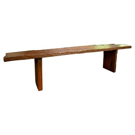 railroad tie bench solid ancient teak railroad tie bench at 1stdibs
