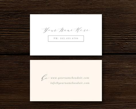 Calligraphy Business Card Template by Calligraphy Style Business Card Template Aspen