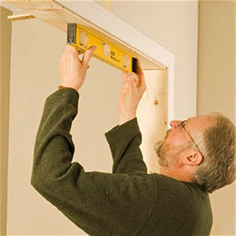 Installing Bypass Closet Doors Framing For Closet Doors How To Install House Doors Diy Advice