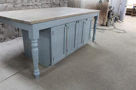 reclaimed kitchen islands custom kitchen island from reclaimed oak ecustomfinishes