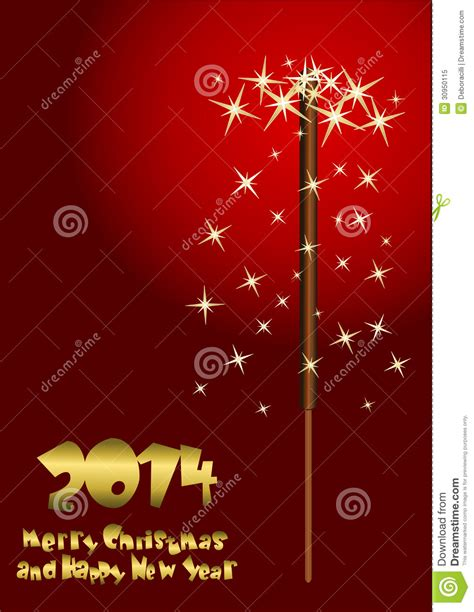 new year background card 2014 happy new year greeting card royalty free stock photo