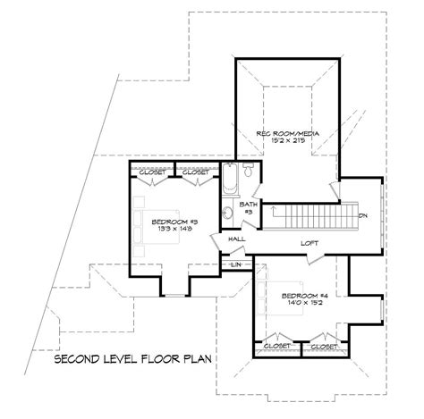 Dfd House Plans Country House Plan With 4 Bedrooms And 3 5 Baths Plan 9387