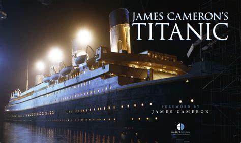 film titanic released uk book news james cameron s titanic re release