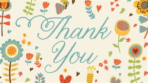 Beautiful Thank You Card Template by Free Thank You Postcard Template Dealupapp