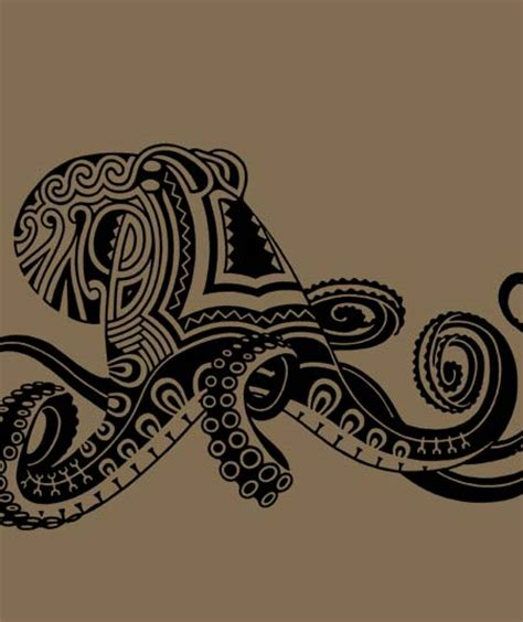 polynesian octopus tattoo designs facts octopus designs