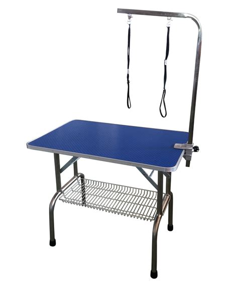 portable grooming table 31 quot grooming table portable adjustable arm noose ebay