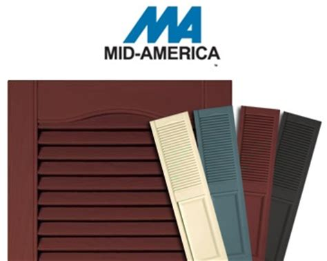 mid america shutter colors pin by modern builders supply on shutters