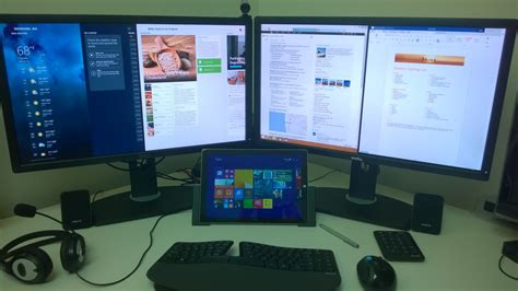 Multi Monitor multi monitor with surface pro 3 pro 4 pro 2017