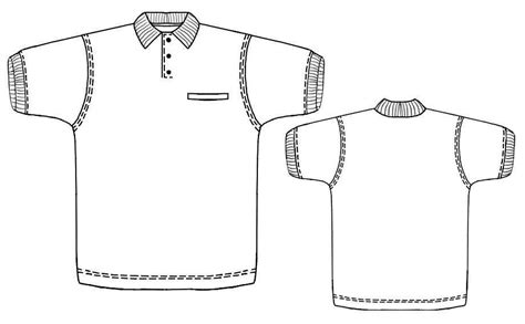 Sewing Pattern Polo Shirt | polo shirt sewing pattern 6120 made to measure sewing