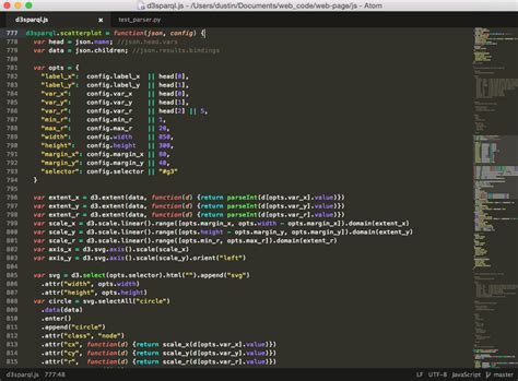best syntax themes for atom spark syntax