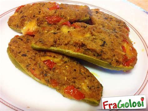 cucinare le zucchine ripiene zucchine ripiene ricetta di fragolosi it