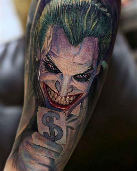 tattoo joker karte joker