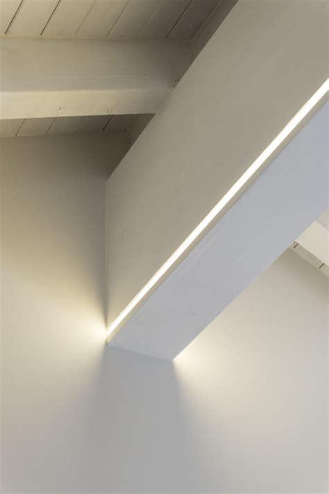 led cove lighting strips sulla trave portante led dimmerabili segnano le