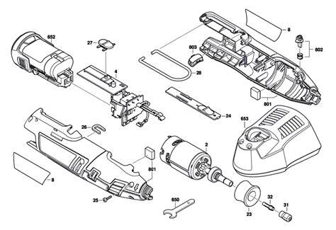 dremel parts diagram buy dremel 8220 f013822000 replacement tool parts